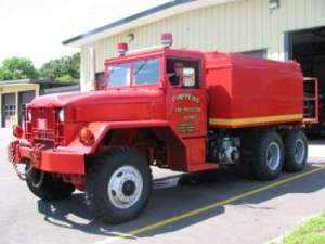 1963 Kaiser 5-ton 6x6 (DNR Unit)  300 GPM Pump 1500 Gallon Tank