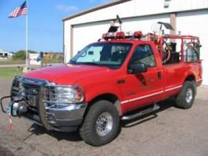 2002 Ford F350 250 gpm Pump 350 Gallon Tank w/Foam Pro Foam System