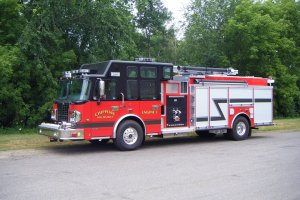 2013 Sparten/Darly 1500 GPM Pump w/CAF 1000 Gallon Tank
