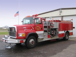 1992 Ford/Pierce 1500 GPM Pumper 1000 Gallon Tank