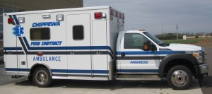 2014 Ford F550 4X4 Lifeline Ambulance