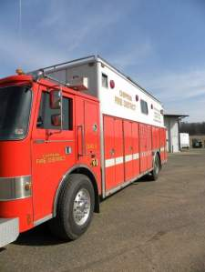 1986 Pierce/Ranger Rescue Vehicle Extrication  Air Cascade